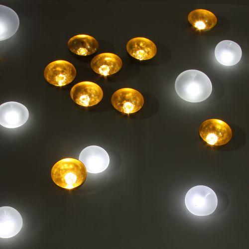 Contemporary ceiling light / round / glass / LED NATURE HARMONIEUSE Semeur d'étoiles