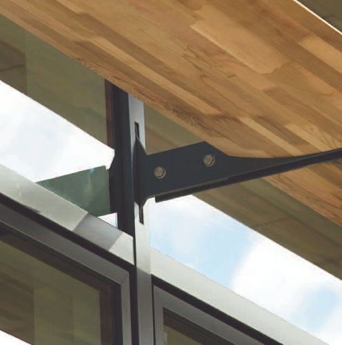 steel fastening system / stainless steel / aluminum / solar shading