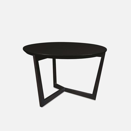 contemporary coffee table / beech / laminate / round