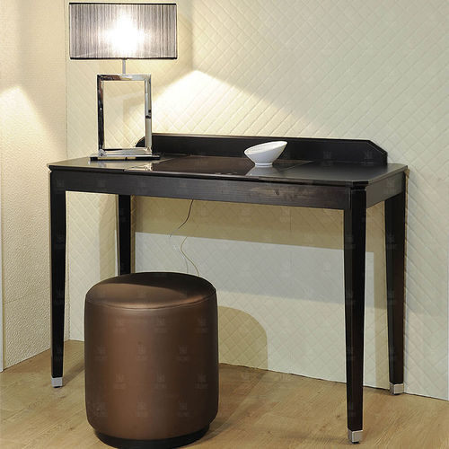 multimedia desk / wooden / contemporary / for hotels