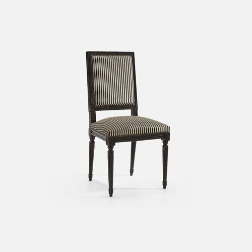 classic restaurant chair / upholstered / with armrests / beech