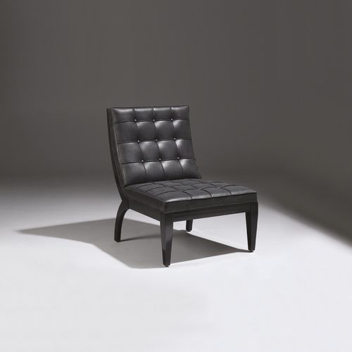 contemporary fireside chair - COLLINET
