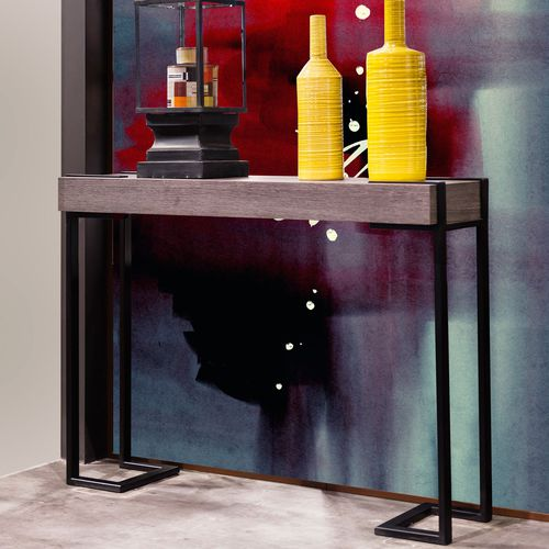 contemporary sideboard table / wooden / rectangular / for hotels