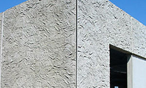 Reinforced concrete cladding / bush hammered / sheet CONDECO S.A.