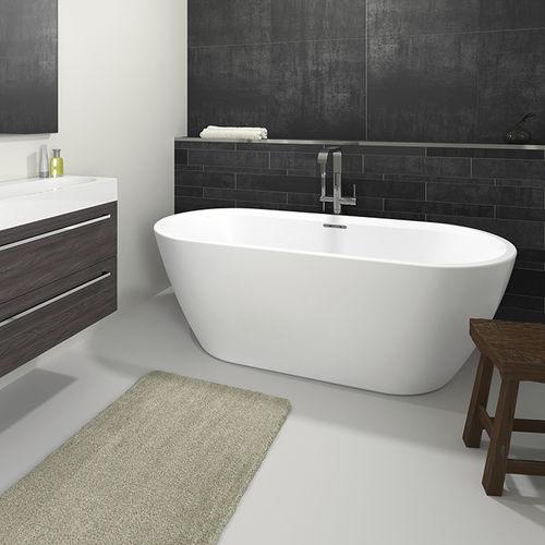 Freestanding bathtub / oval / acrylic INSPIRE RIHO