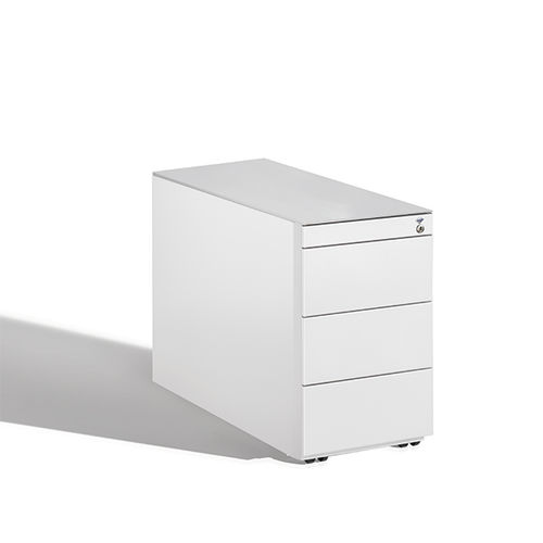 Steel office unit / wooden / glass / 4-drawer C 3000 ASISTO : 54210-003|S10136 C+P Möbelsysteme GmbH & Co. KG