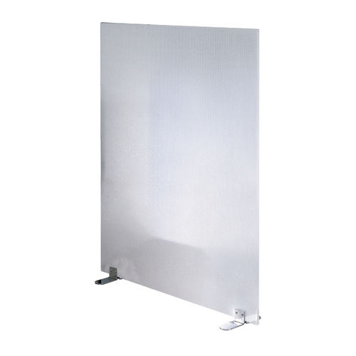 Floor-mounted office divider / fabric / plastic / steel W 5000 SONICWALL : 56930-0618 C+P Möbelsysteme GmbH & Co. KG