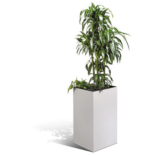 Metal garden pot / free-standing / square CO : SO-93002 C+P Möbelsysteme GmbH & Co. KG