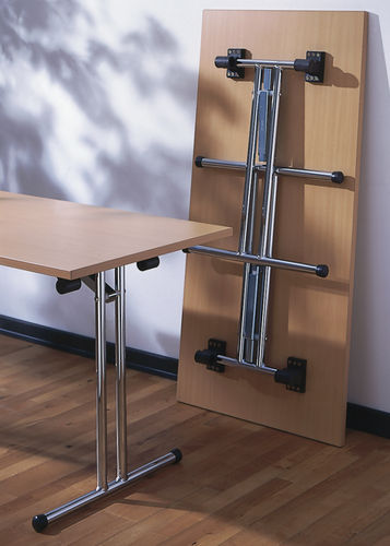 contemporary boardroom table / melamine / rectangular / for offices