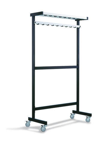 floor coat rack / contemporary / metal / commercial