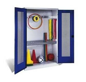 Mobile storage cabinet / for sports equipment SERIE 1080/1090 C+P Moebelsysteme