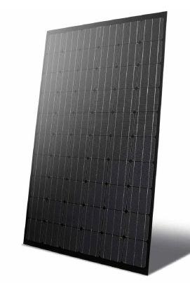 Monocrystalline PV panel / standard / self-cleaning / frameless BLACK 250 W 3S SWISS SOLAR SYSTEMS