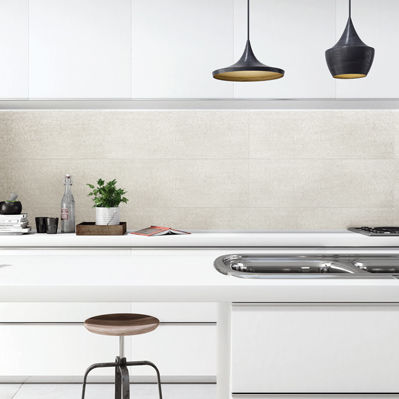 kitchen tile / floor / porcelain stoneware / 60x60 cm