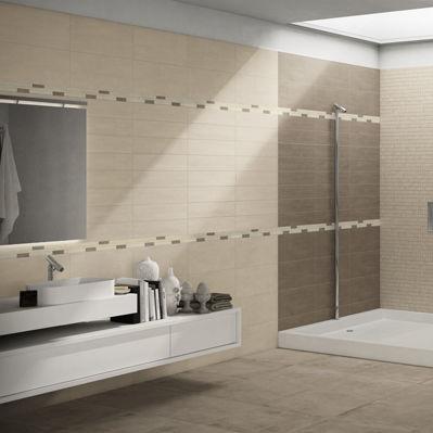 bathroom tile / floor / porcelain stoneware / 60x60 cm