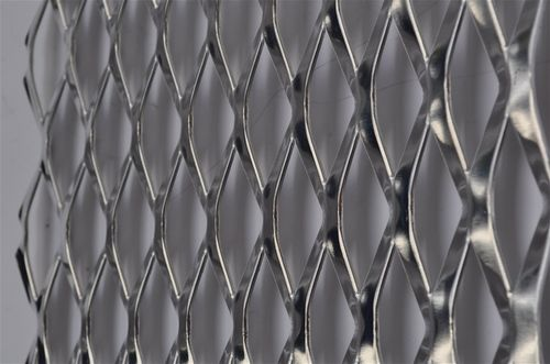Perforated sheet metal / expanded / steel / facade DIAMOND OPENING Actis Furio