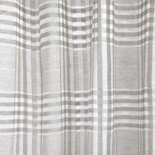 curtain fabric / plaid / linen
