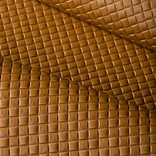 Natural upholstery leather / plain BASKET 4701 Decobel srl
