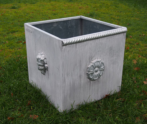 zinc planter / square / custom / modular