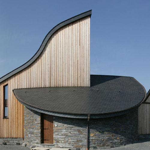 slate roofing / roof tile look