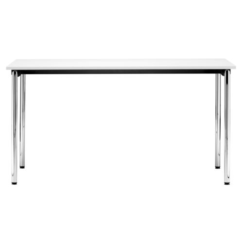 Contemporary table / metal / laminate / rectangular S 1195 by Delphin Design THONET