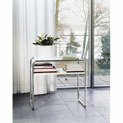 Nesting table / Bauhaus design / wooden / glass B 9 THONET