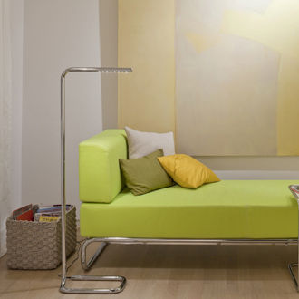 Floor-standing lamp / contemporary / steel / LED LUM by Ulf Möller THONET