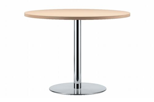 Dining table / contemporary / stainless steel / wooden S 1123 THONET