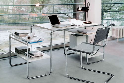 Conference chair / visitor / contemporary / mesh S 33 by Mart Stam THONET
