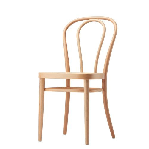 Bistro chair / traditional / bentwood / beech 218 THONET