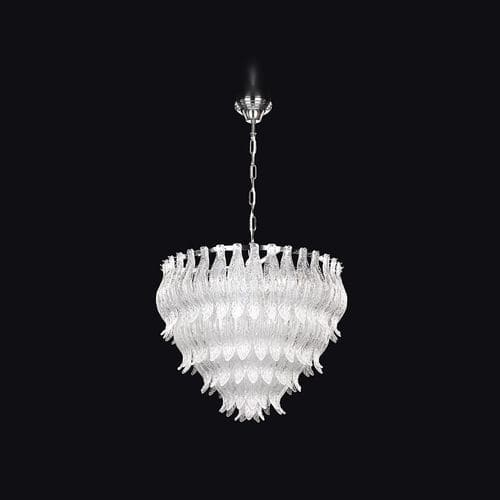 contemporary chandelier / crystal / incandescent