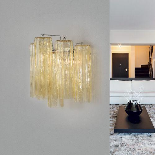 contemporary wall light / Murano glass / LED