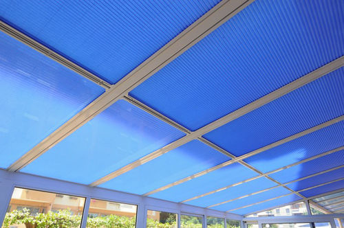 pleated blinds / canvas / for roof windows