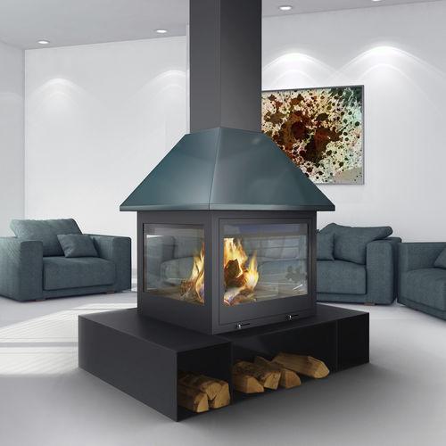 wood-burning fireplace / gas / bioethanol / traditional