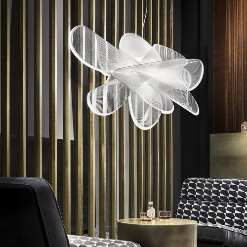 pendant lamp / original design / Cristalflex® / handmade