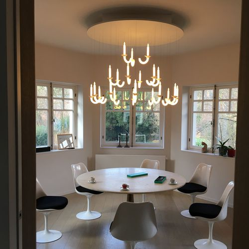 custom chandelier - Beau & Bien