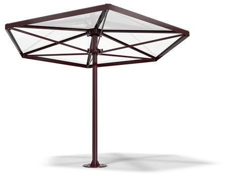 commercial patio umbrella / steel