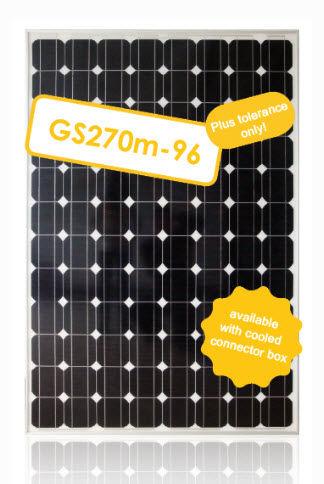 Monocrystalline PV solar panel / standard GS170M-96 Galaxy Energy