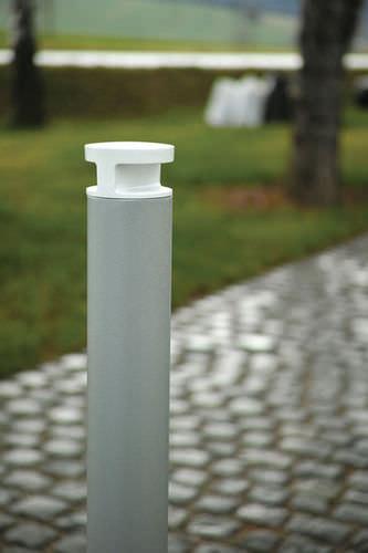urban bollard light / traditional / aluminum / LED