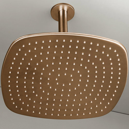Ceiling-mounted shower head / square / rain PB31 COPPER COCOON