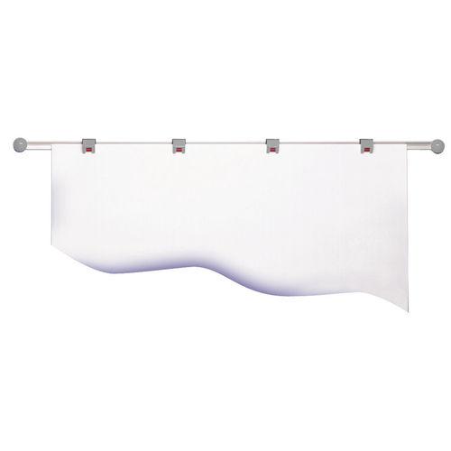 Wall-mounted display panel / indoor / magnetic / metal 6251085 MAUL