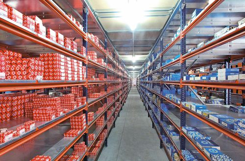 Universal shelving / light-duty / for medium-heavy loads / metal M7 MECALUX France