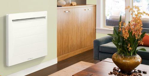 electric radiator / aluminum / contemporary / horizontal