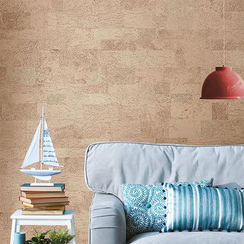 natural cork wallcovering / home / tertiary / matte