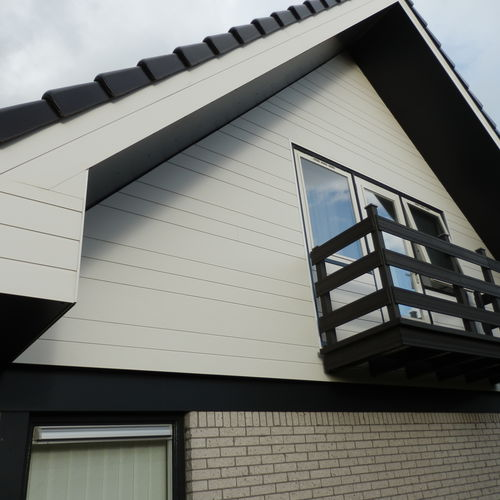 composite cladding / lacquered / grooved / smooth