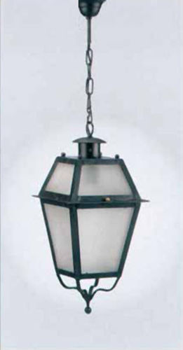 pendant lamp / traditional / wrought iron