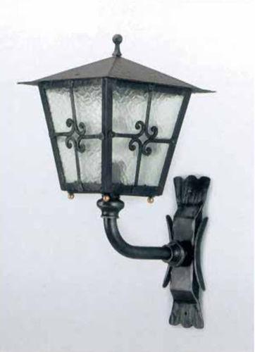 traditional lamp / wrought iron / lantern / garden