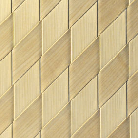 wood decorative panel / MDF / wall-mounted / veneered