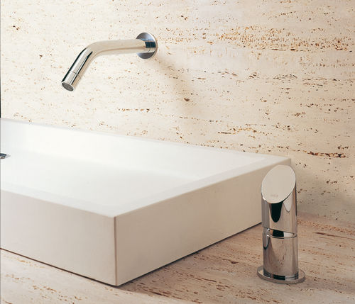Washbasin mixer tap / built-in / stainless steel / bathroom CB214 MGS Progetti