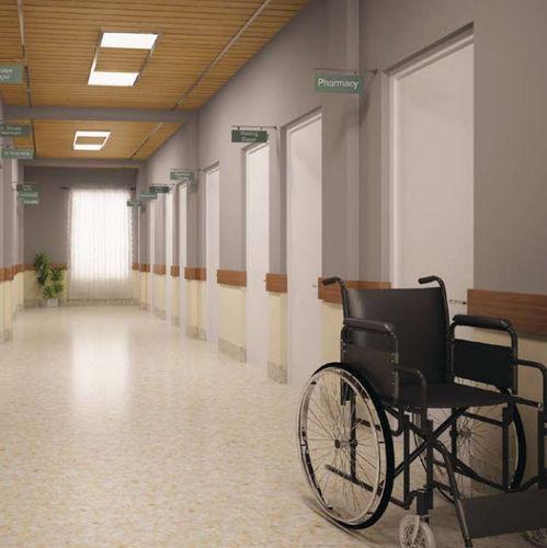 Vinyl Flooring For Healthcare Facilities Roll Smooth RAPID - Vinylboden für industrie