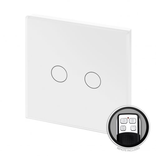 light dimmer switch / touch / remote-controlled / double